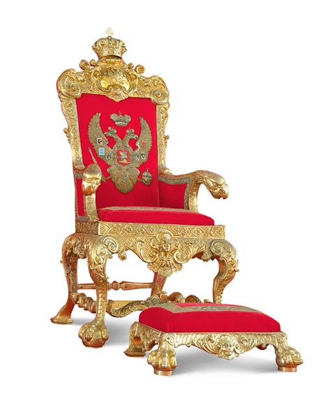 Royal Throne Chair by Wishlist For Secret White Day By Raveeoftitans On