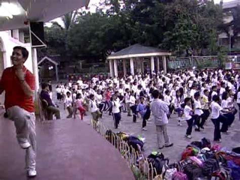 grade v warm up exercise at p.burgos elementary school sta