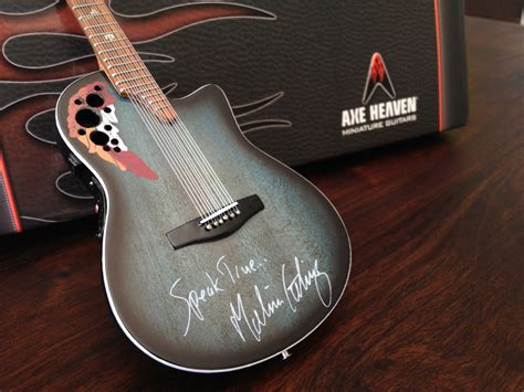 Kalung Pasangan Mini Plat Guitar etheridge speak true signature 12 string promo mini guitar axe heaven miniature guitars