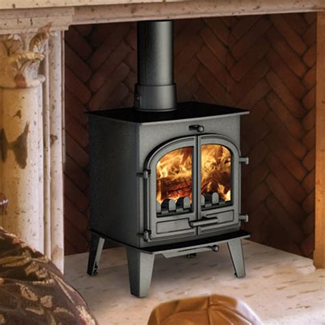 Fast Delivery Cleanburn Lovenholm Traditional Multifuel Fuel Burning Fireplaces
