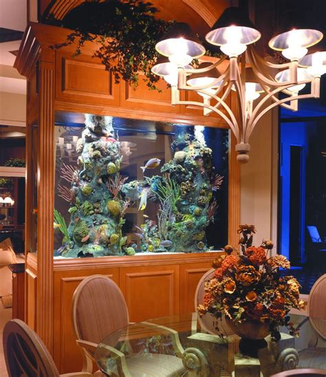Aquarium In Dining Room 8 extremely interesting places to put an aquarium in your home