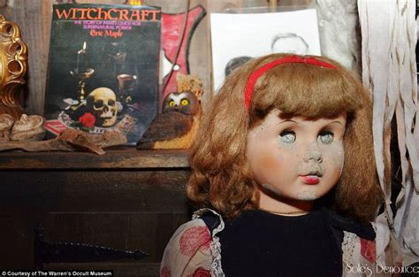 annabelle doll warrens occult museum position inside the house of horrors that inspired the conjuring