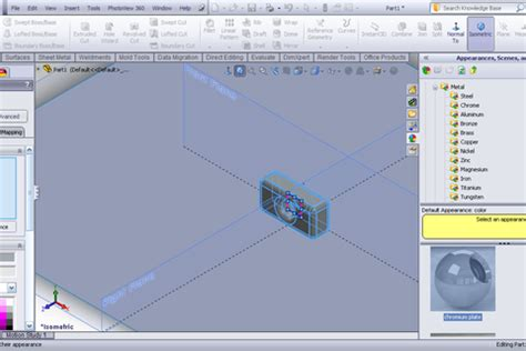 tutorial solidworks render tutorial using the surfaces as floor to get better