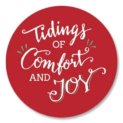 oh tidings of comfort and joy tidings of comfort and joy seals current catalog
