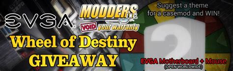 Destiny Community Podcast Giveaway - winners and theme picked for the wheel of destiny case mods 1 giveaway modders inc