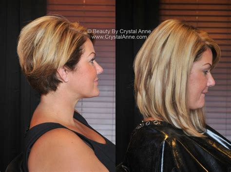 from pixie cut to bob with extensions 1000 images about hair makeup by beauty by crystal anne
