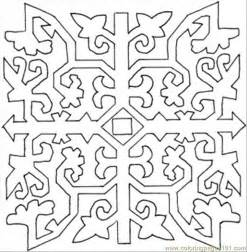 86 Pattern Coloring Page sketch template