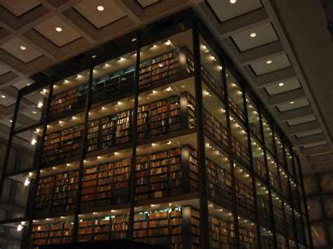 library interior yale s beinecke rare book manuscript library to reopen