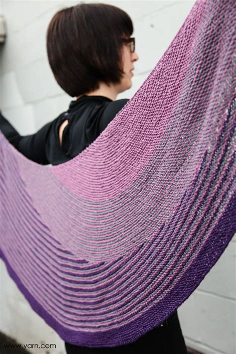 knitting pattern color affection lessons learned when making the color affection shawl
