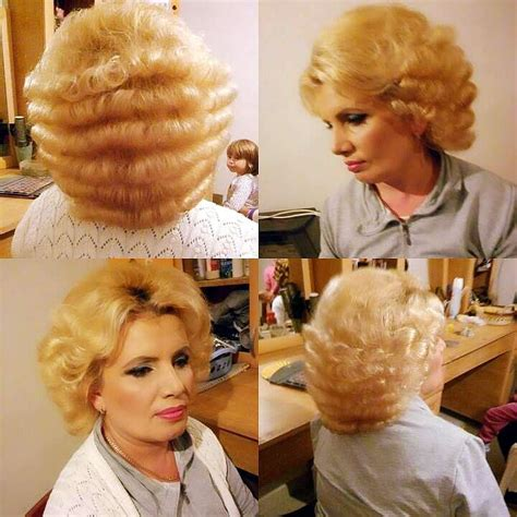 bouffant beauty salon videos 132 best blonde bouffant images on pinterest