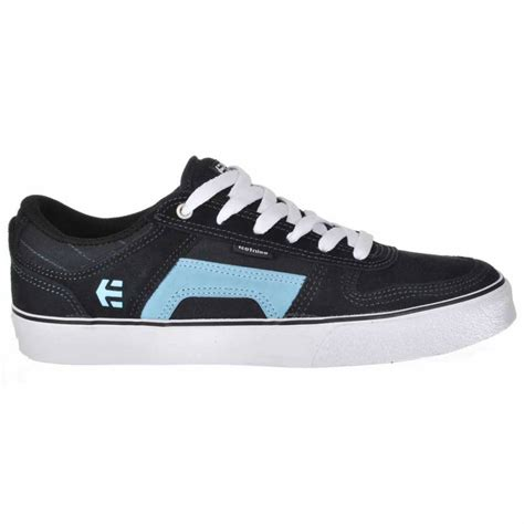 skate shoes etnies rvs navy skate shoes