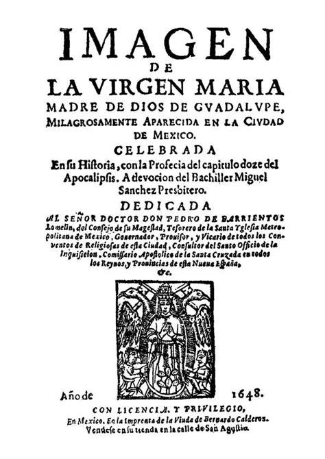 imagen de la virgen maria miguel sanchez imagen de la virgen mar 237 a madre de dios de gvadalupe