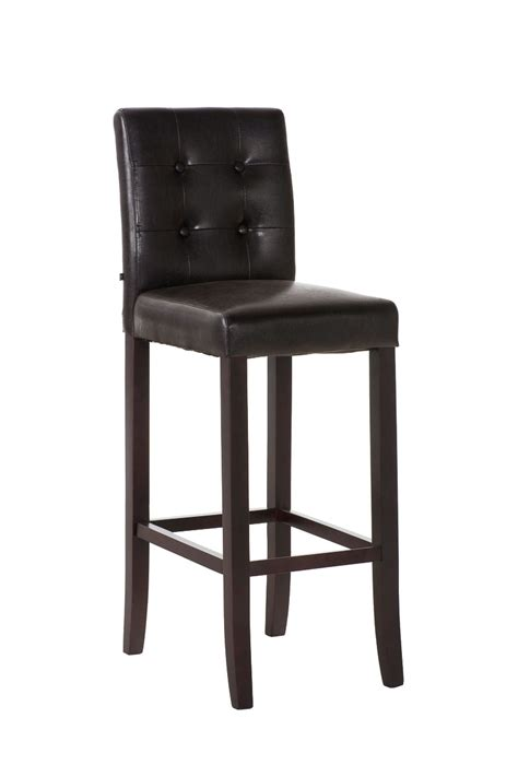 Wood And Leather Bar Stools Bar Stool Burda Wood Leather Breakfast Kitchen Barstools