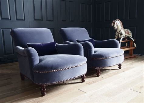 george smith armchair pair of george smith jules armchairs in designers guild