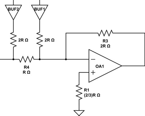 calculate resistor ladder thevenin how to calculate appropriate r 2r d a converter resistor values electrical