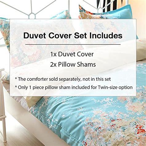 Romantic Floral Scarf Duvet Cover Vaulia Lightweight Duvet Cover Sets Vintage Floral