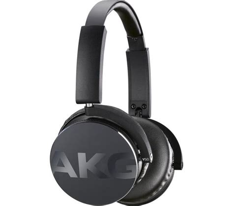 Akg Headphone Y50 buy akg y50 headphones black free delivery currys