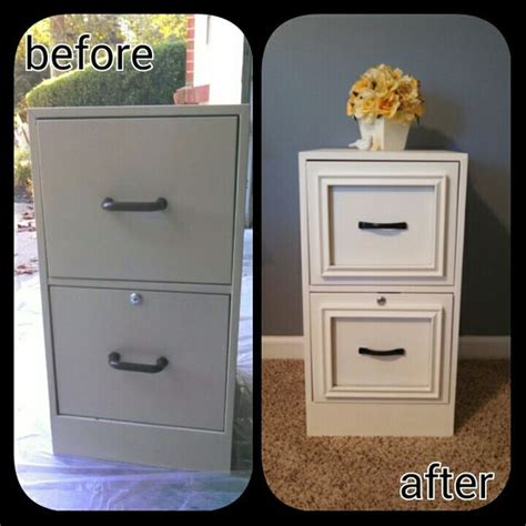 diy chalk paint home hardware filing cabinet makeover used epoxy to attach cheap 8x10