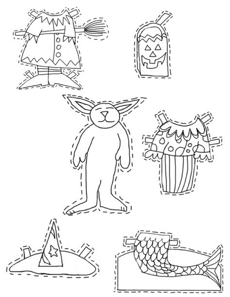 halloween coloring pages cutouts halloween printable cutouts az coloring pages