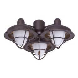 ceiling fan light fixtures boardwalk cage ceiling fan light fixure bronze emerson