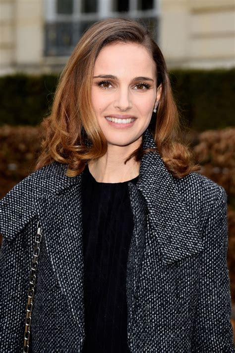 Natalie Portman Is Fashionable by Natalie Portman Christian Fashion Show In