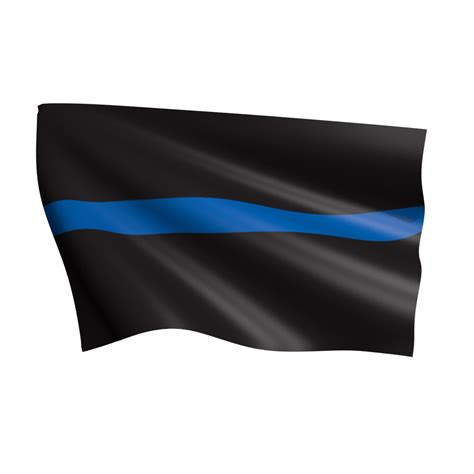 thin line thin blue line flag flags international