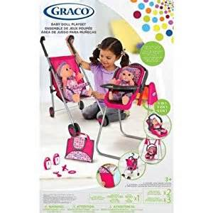 Target Graco High Chair Amazon Com Graco Deluxe 5 In 1 Baby Doll Accessory