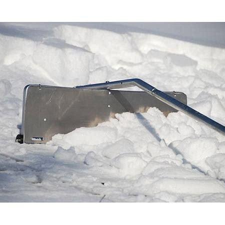 garelick 21 snow trap roof snow rake lawn garden snow removal tools