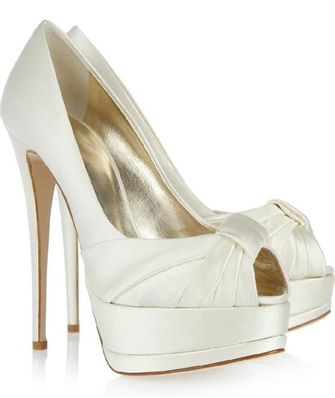 Pumps Braut by Wedding Pumps For Brides Wardrobelooks