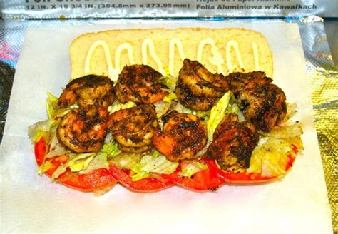 the dawg house buford blackened shrimp po boy picture of the dawg house