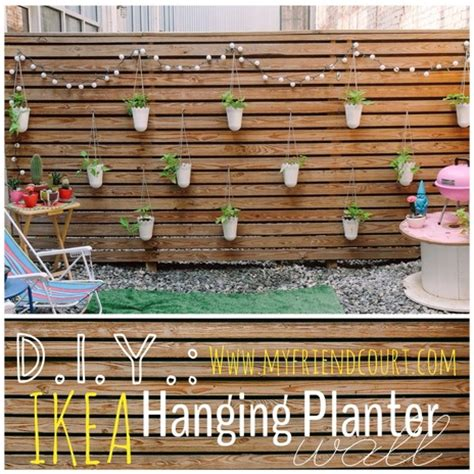 wall planters ikea ikea hack planter wall diy my friend court