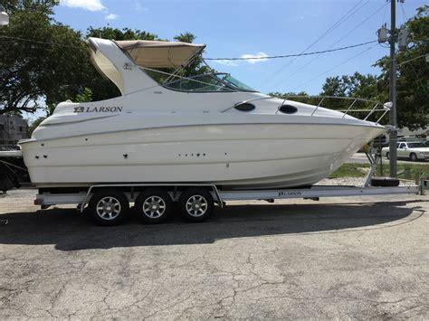 larson boats cabrio 290 larson 290 cabrio mid cabin boat for sale from usa