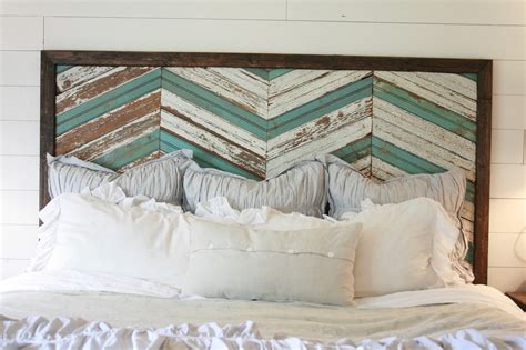 grand design memorial day and a reclaimed wood headboard