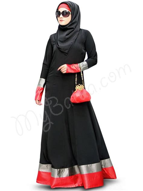 Jilbab Square Feather beautiful panel umbrella black wear abaya mybatua aroob abaya style no ay 335