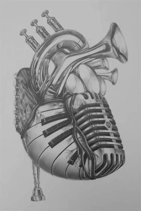 tattooed heart karaoke piano this is amazing instrument heart tat ideas pinterest