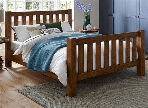 bed and frame pine wooden bed frame dreams