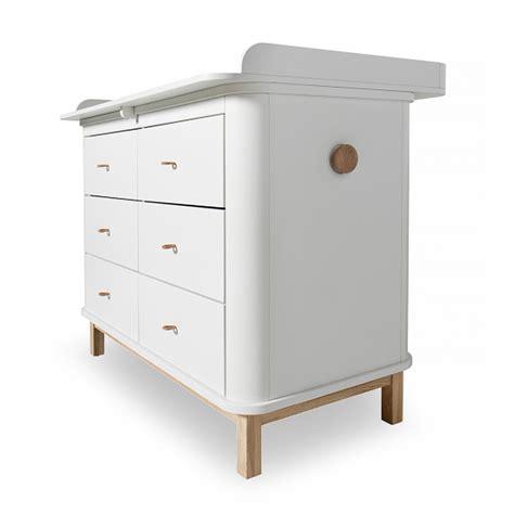 cassettiere fasciatoi cassettiera wood con fasciatoio grande by oliver furniture
