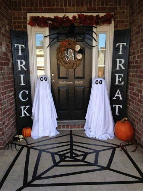 ideas outdoor halloween decoration ideas to make your 40 homemade halloween decorations kitchen fun with my