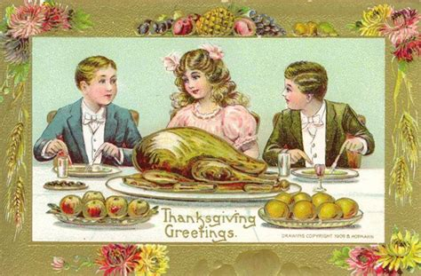 vintage dinner free clip from vintage crafts 187 thanksgiving