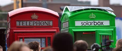 cabine telefoniche londinesi le cabine telefoniche a londra ma verdi il post