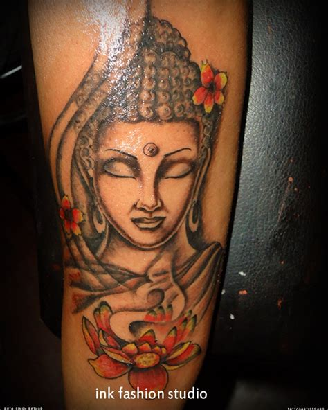 budda tattoo buddhist religious buddha design photos tattowmag