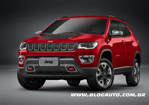jeep compass trailhawk 2017 jeep compass 2017 chega a partir de r 99 990 blogauto