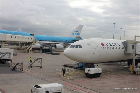 Delta Airlines Background Check My Review Delta Airbus A330 From Amsterdam To Seattle Airlinereporter
