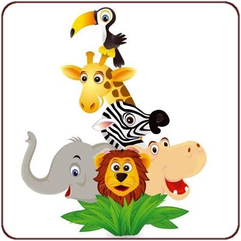 dessin animaux de la jungle photos stickers pour enfants page 2 hellopro fr deco bebe
