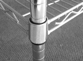 scaffali cromati arredamenti salconi scaffalature cromate in filo d acciaio