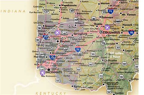 Map Of Southwest Ohio by Harveysburg Ohio On Caesar S Creek Lake A Little