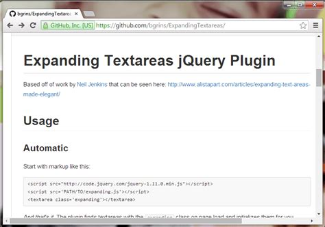 tutorial jquery plugin 10 jquery plugins for textarea element jquery by exle