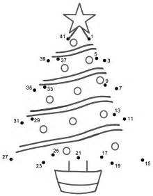 christmas tree connect the dots count by 2 s starting