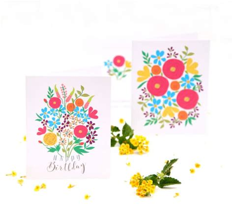 printable flowers for cards printable greeting cards free wblqual com