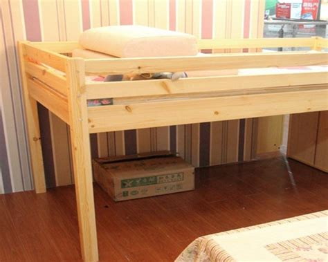 half loft bed children s bed wood bunk beds and a half high beds for